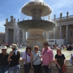 Cousins in the Vatican City to see Pope Francis' Wednesday…