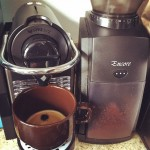 How I start my mornings now. Espresso and Coffee. :)…