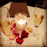Valentine's Dinner at FARM last night at The Carneros Inn…